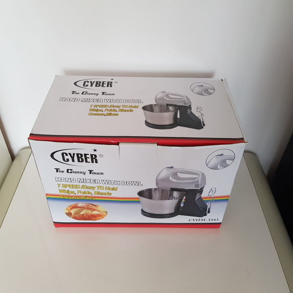 Used New mixer with stand and bowl in Dubai, UAE