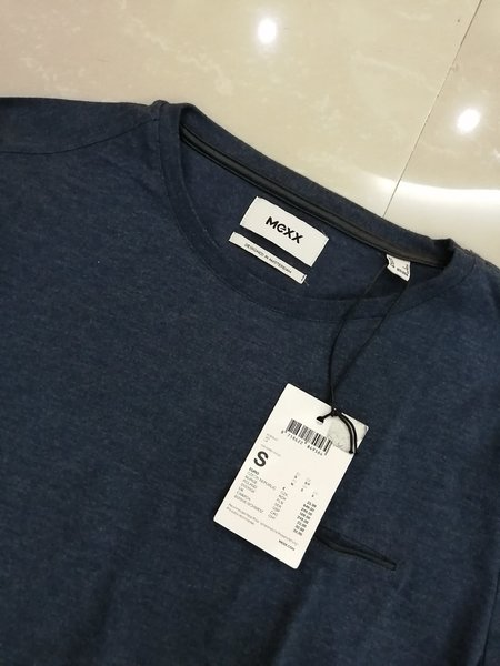 Used MEXX  T-shirt New! Size S Blue in Dubai, UAE