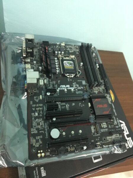 Used Asus B250-pro MotherBoard in Dubai, UAE