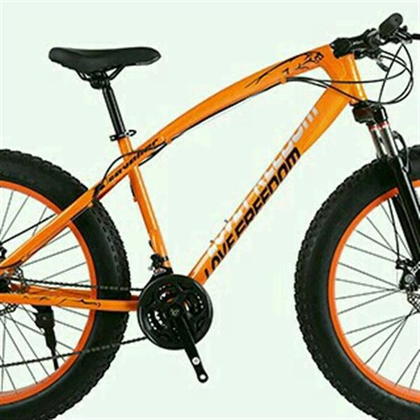 Used 26 Inch With suspension Fhat Bicycle  Front Have Suspension. Front And Rear Have Disk Break System in Dubai, UAE