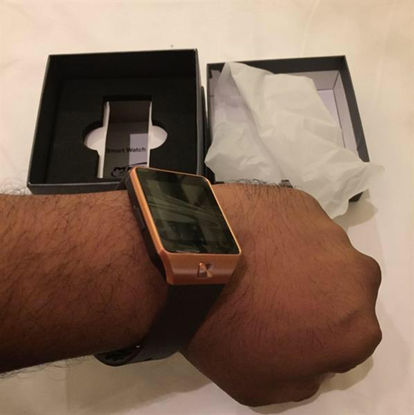 Used Brand New Latest 2017 Smart Touch Watch With Sim And Memory Slot, Can Be Used On Wifi And Also Can Download WhatsApp  in Dubai, UAE