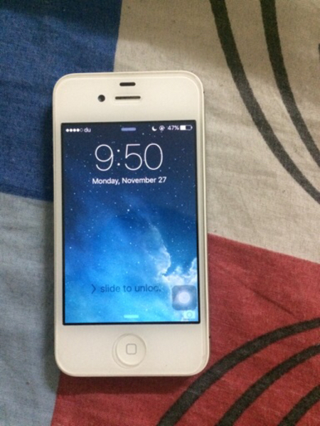 Used I phone 4s 32gb og with charger  in Dubai, UAE