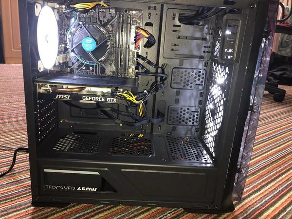 Used Budget gaming pc with ultra settings in Dubai, UAE