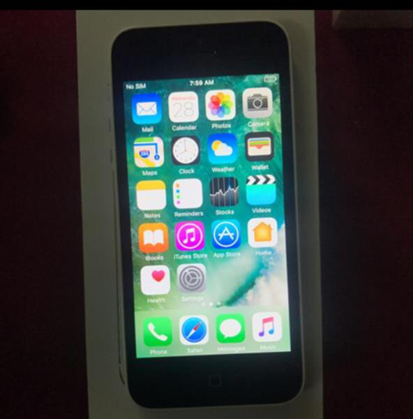iphone 5C.  16GB white.  used.