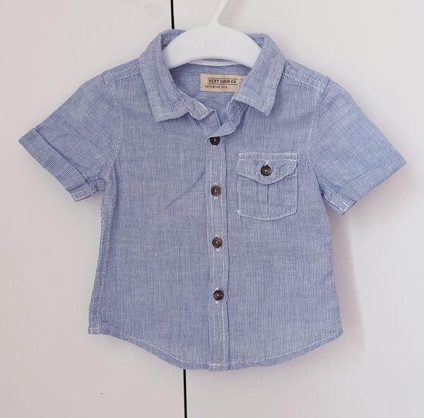 Used Next shirt for boy, size 3-6M in Dubai, UAE