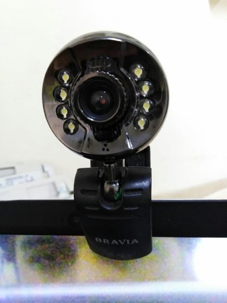 Used Bravia pc extrnal camera automatic light in Dubai, UAE