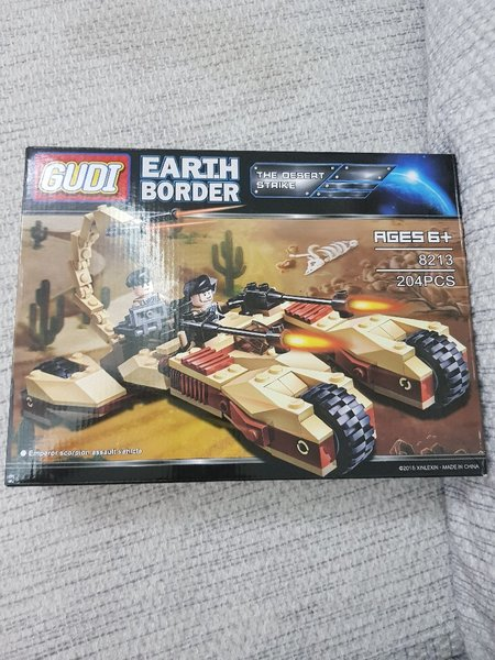 Used EARTH BORDER age6+ 204PCS in Dubai, UAE