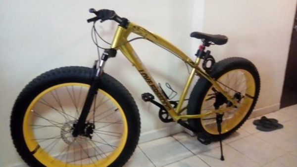 Used Bicycle 2 months Old in Dubai, UAE
