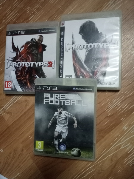 Used Ps3 prototype 1&2+ pure football in Dubai, UAE
