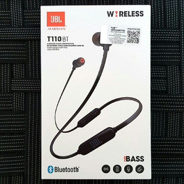 Used Brand New JBL T110BT Wireless Earphones in Dubai, UAE