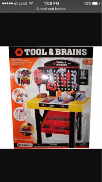 Used Tools and Brains Kit for Kids in Dubai, UAE
