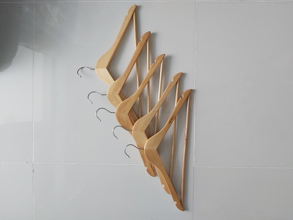 Used 5 wooden hanger in Dubai, UAE
