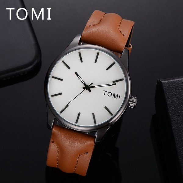 Used Original TOMI Watch♤👉🆓️ Leather Wallet in Dubai, UAE