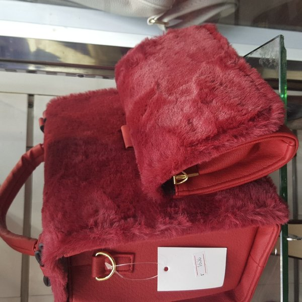 Used Trendy purse with Matching Wallet in Dubai, UAE
