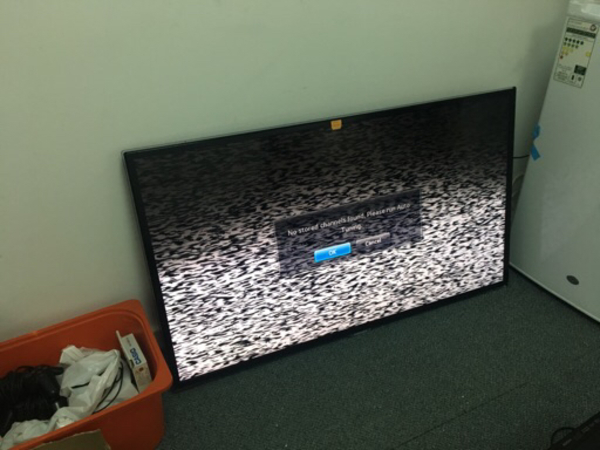 Used TV smash in Dubai, UAE