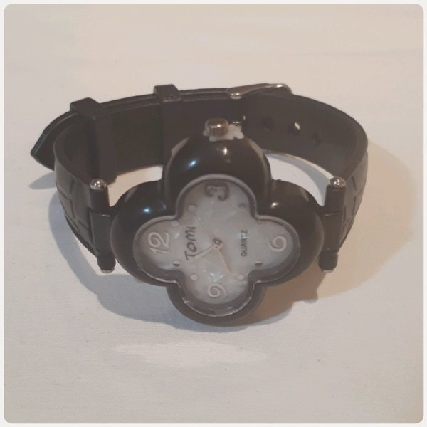 Used Tomi watch black color in Dubai, UAE