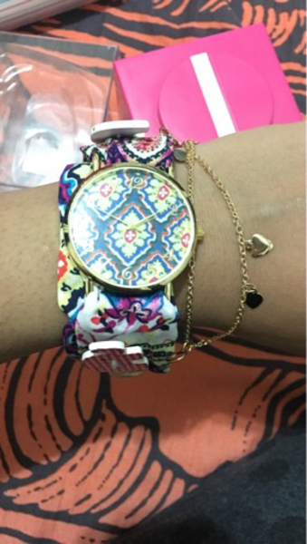 Used Baby girl stylist watch from babyshop in Dubai, UAE
