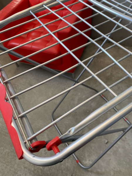 Used Laundry drying rack (brushed metal) in Dubai, UAE