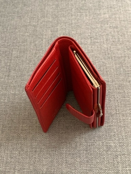 Used Authentic LV Epi wallet in Red color in Dubai, UAE
