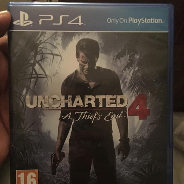 Used Uncharted 4 Region-2 (used) in Dubai, UAE