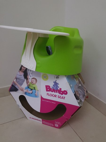 Used Bumbo floor seat in Dubai, UAE