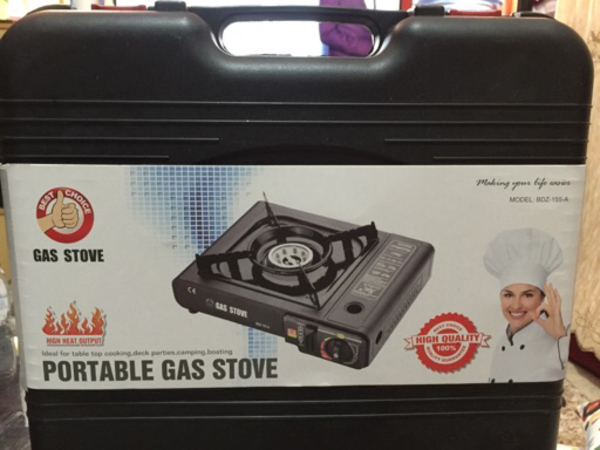 Used Portable gas stove (new) and zestaw(new) in Dubai, UAE