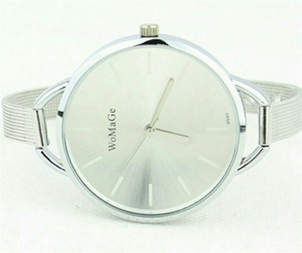 Used Womage white dial watch in Dubai, UAE
