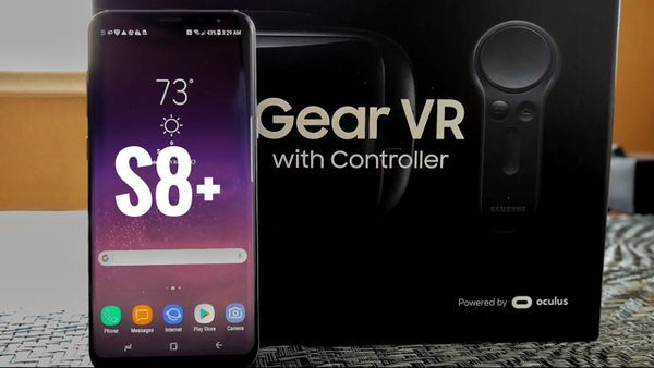 S8 Plus Gear VR And Controller