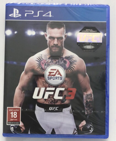 Used Ps4 ufc3 in Dubai, UAE
