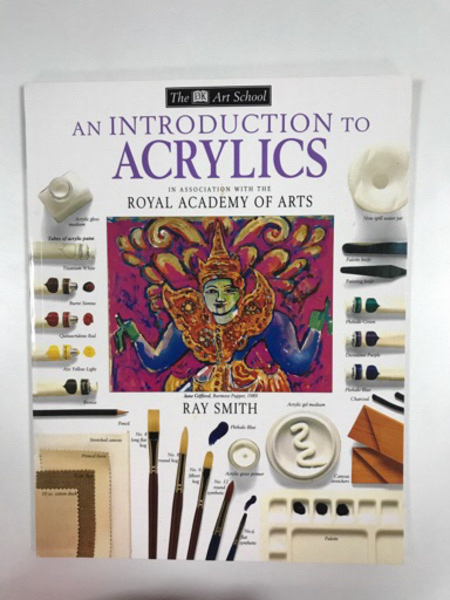 Used Two Books about Painting with Acrylic  in Dubai, UAE