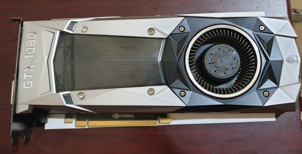 Used nvidia Gtx 1080 founders edition used in Dubai, UAE