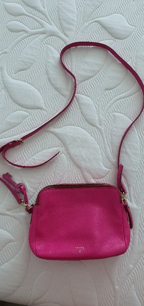 Used Original Fossil sling bag with dustbag in Dubai, UAE