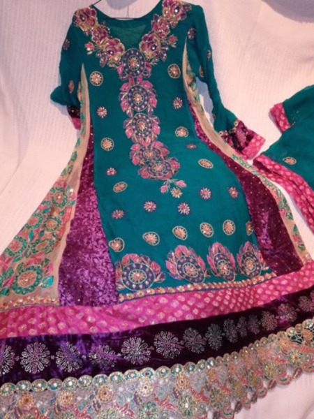Used Anar kali dress in Dubai, UAE