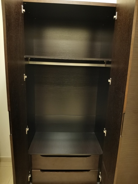 Used Wooden wardrobe from home center in Dubai, UAE