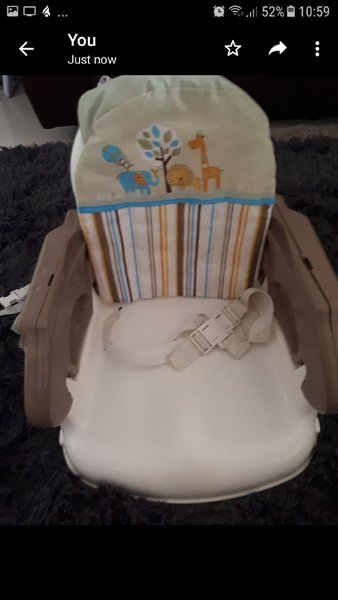 Used Summer Infant Portable Booster Seat in Dubai, UAE