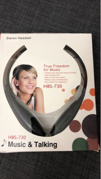 Used Bluetooth Stereo Headset HBS-730. in Dubai, UAE