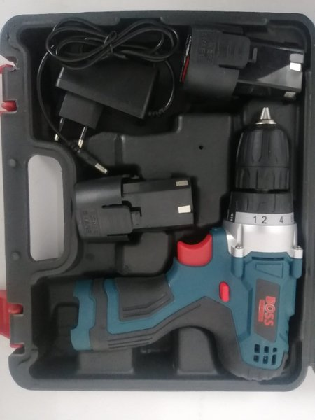 Used Boss cordless drill machine 18V in Dubai, UAE