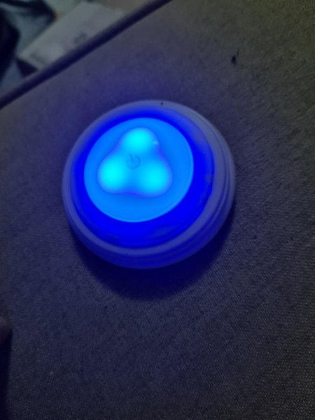 Used 4 pcs new spot light with remote in Dubai, UAE