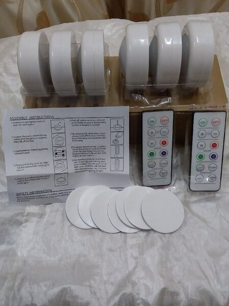 Used Colour Changing Remote Controlled Led A in Dubai, UAE