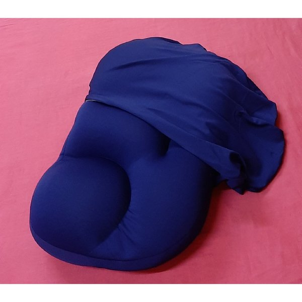 Used Comfortable pillow with cover ! in Dubai, UAE