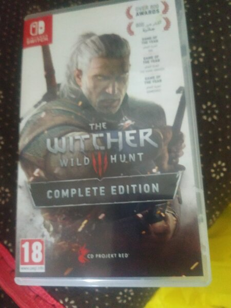 Used Witcher 3 NINTENDO SWITCH in Dubai, UAE