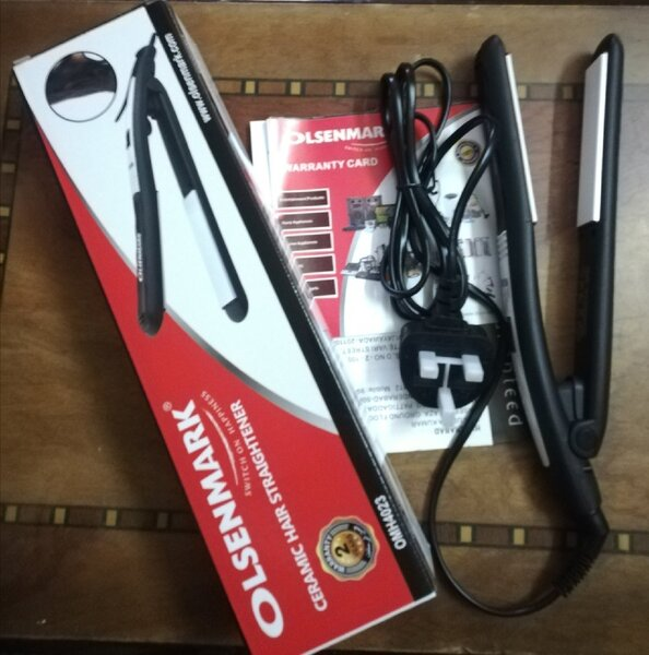 Used New OLSENMARK HAIR STRAIGHTENER.     ^ in Dubai, UAE