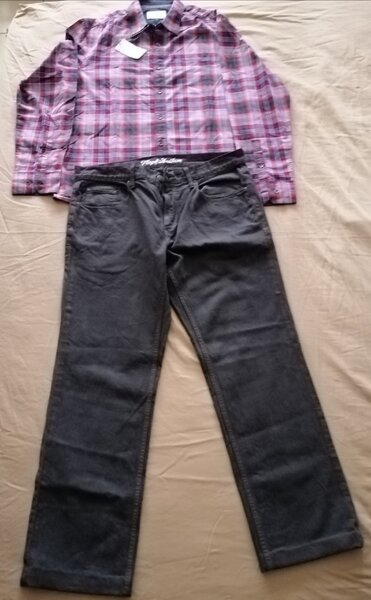 Used Flag & anthem jeans and shirt in Dubai, UAE