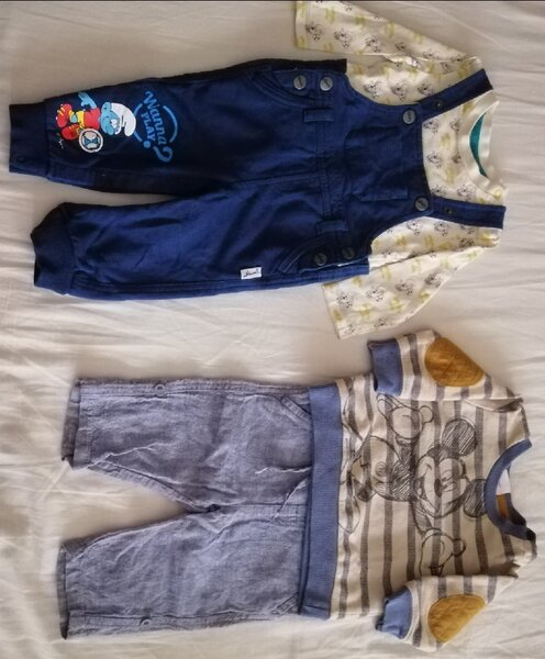 Used 4 sets size 0-6 months in Dubai, UAE