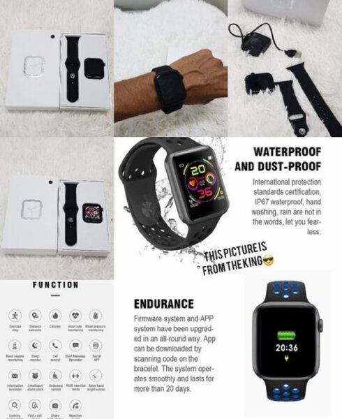 Used T900 smart watch series 5 woow in Dubai, UAE