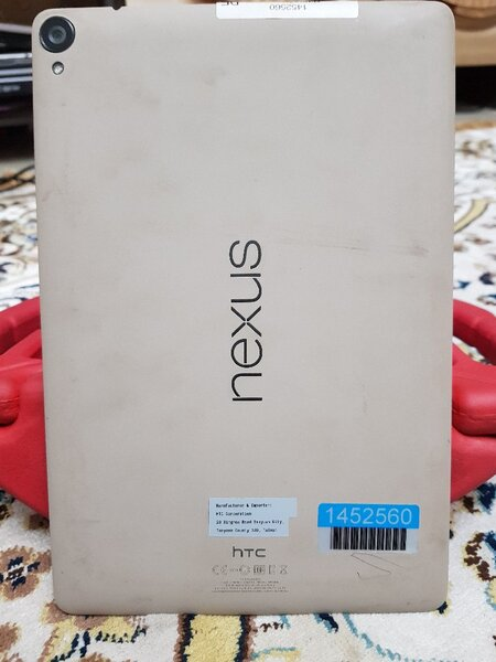 "Used HTC Nexus 9 Tablet 8.9"" Display 32GB/2GB in Dubai, UAE"