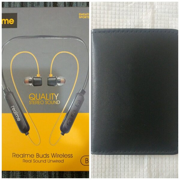 Used Friday HoT Deal Bluetooth Headset➕Wallet in Dubai, UAE