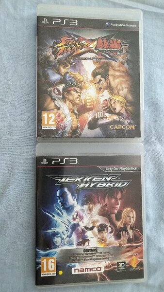 Used 2 fighting games for PS3 in Dubai, UAE