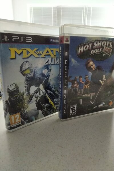 Used 2 sport games for PS3 in Dubai, UAE