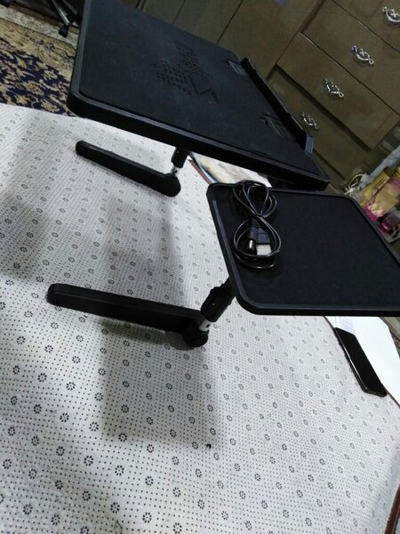 Used Adjustable laptop stand desk new in Dubai, UAE